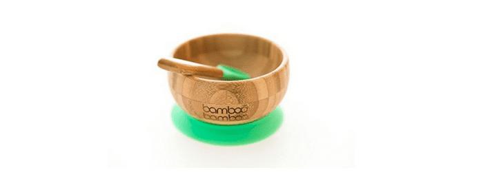Image of Bamboo feeding bowl