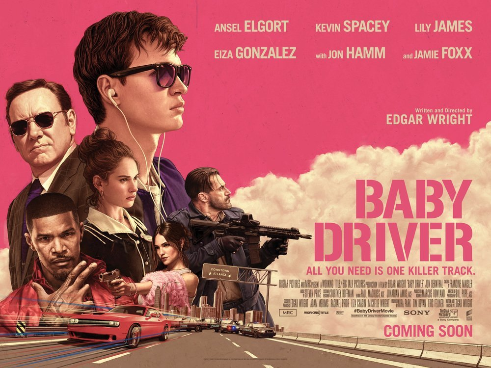 Baby Driver Movie Poster image