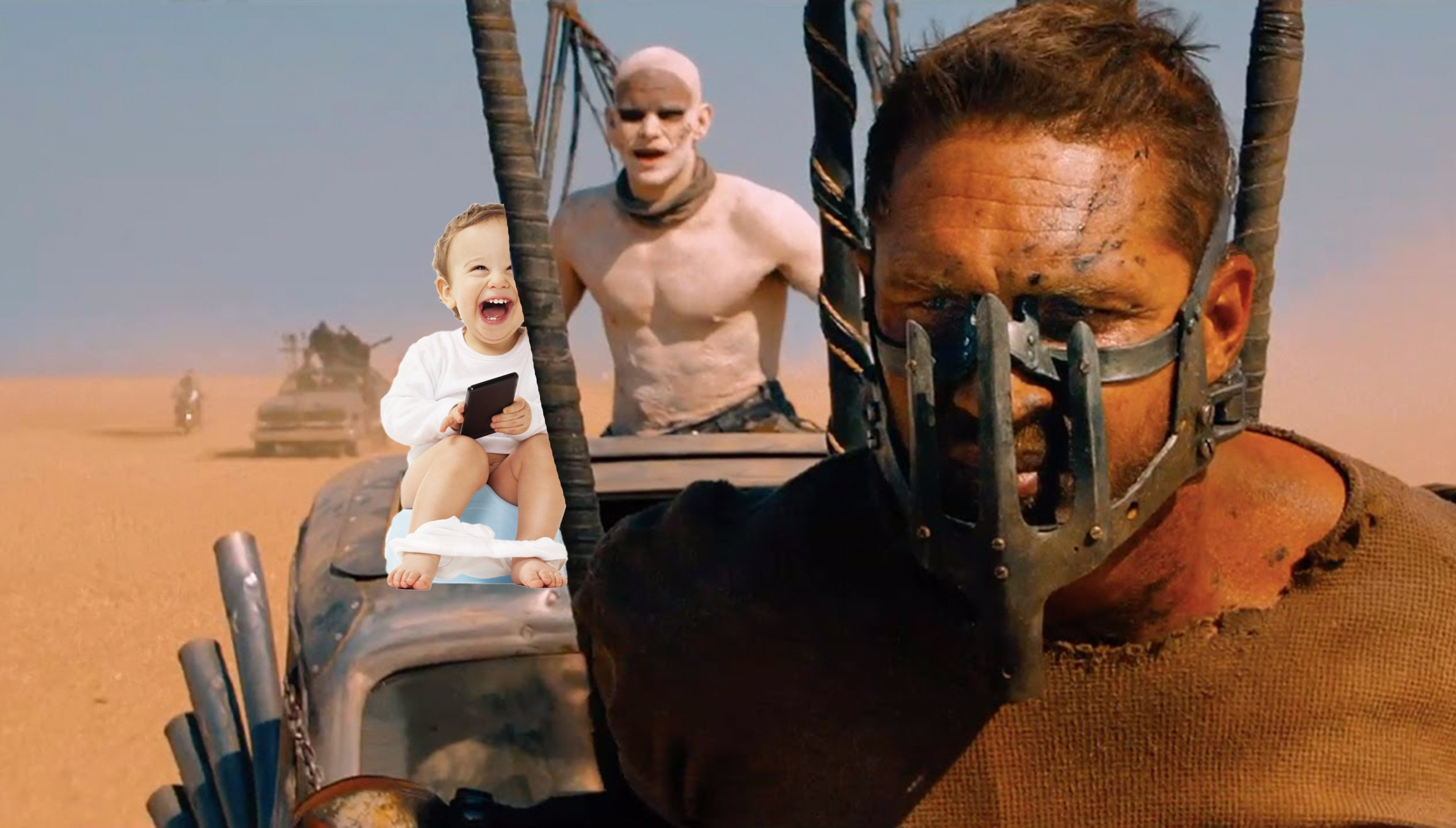 Mad Max: The road to potty training image