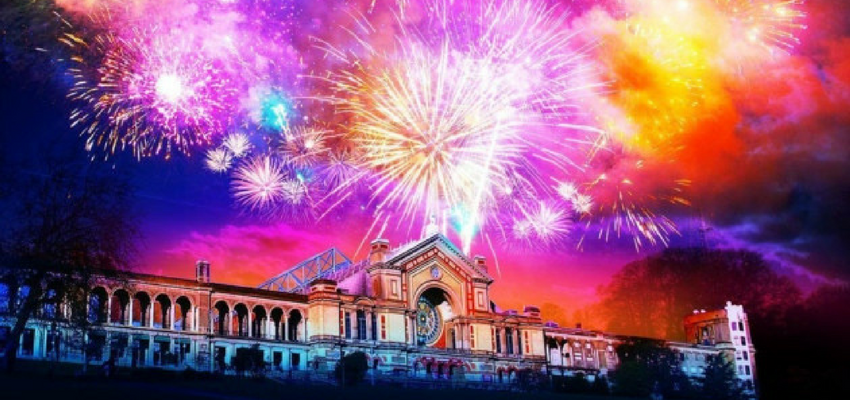 Image of Alexandra Palace firework night