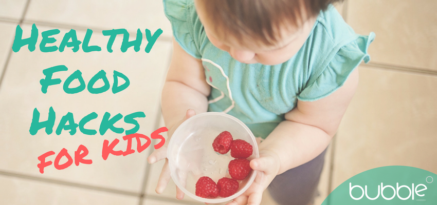 Healthy food hacks for kids