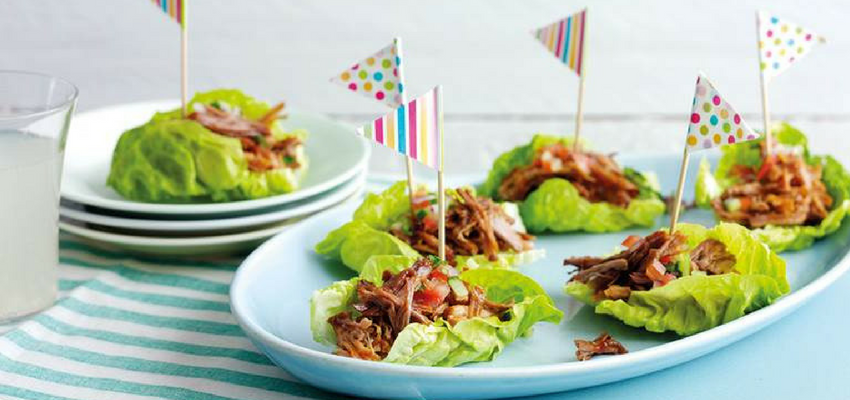 Image of lettuce boats