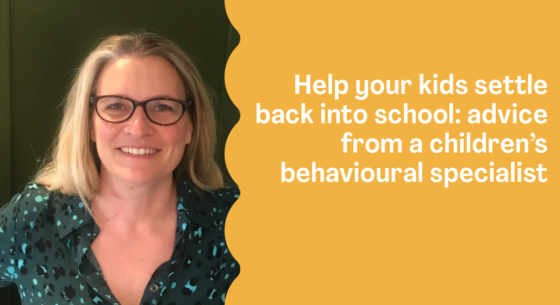 4 top tips to help your kids settle back into school