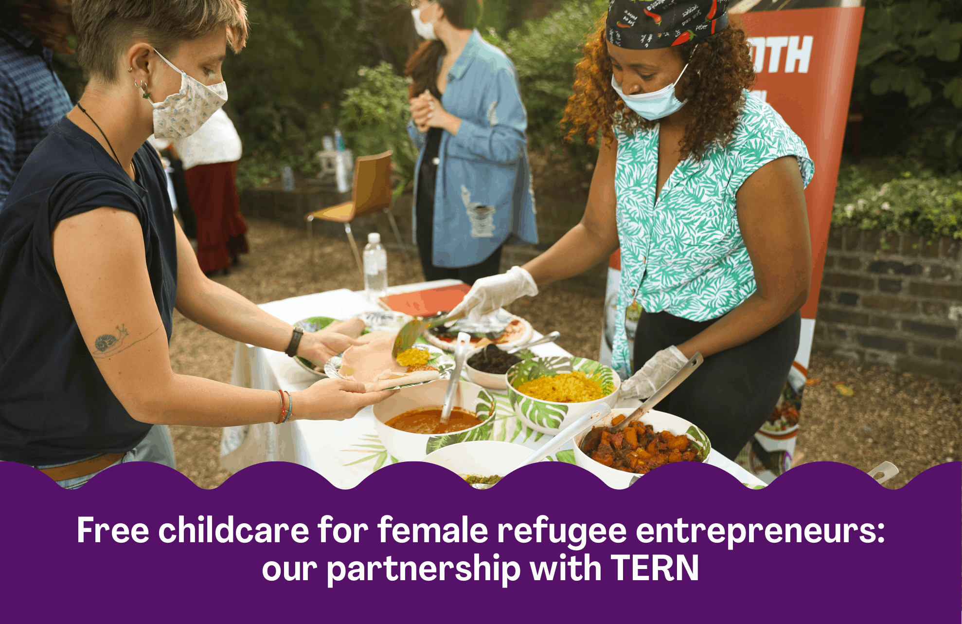 Free childcare for female refugee entrepreneurs: our pilot scheme with TERN