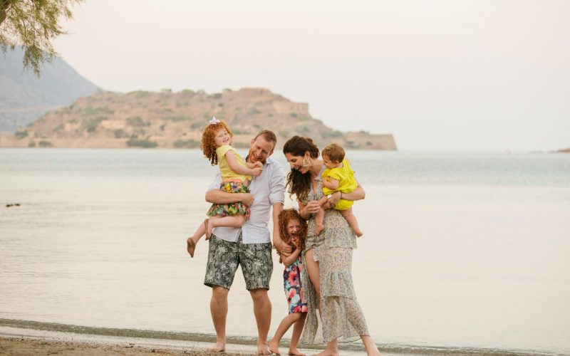 Natasha Stoller with her family
