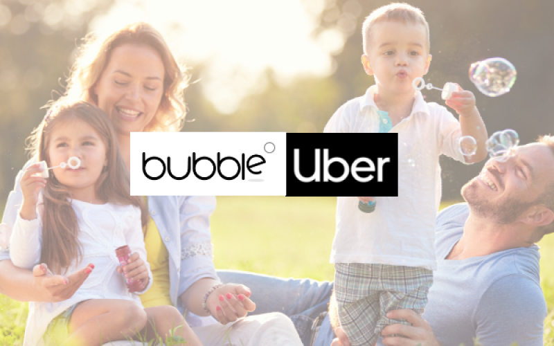 bubble uber partnership